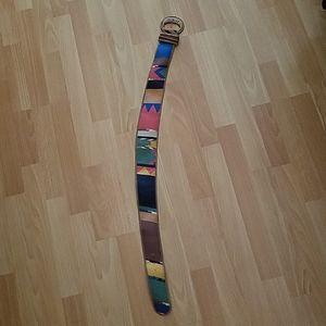 Wide Pattern Belt